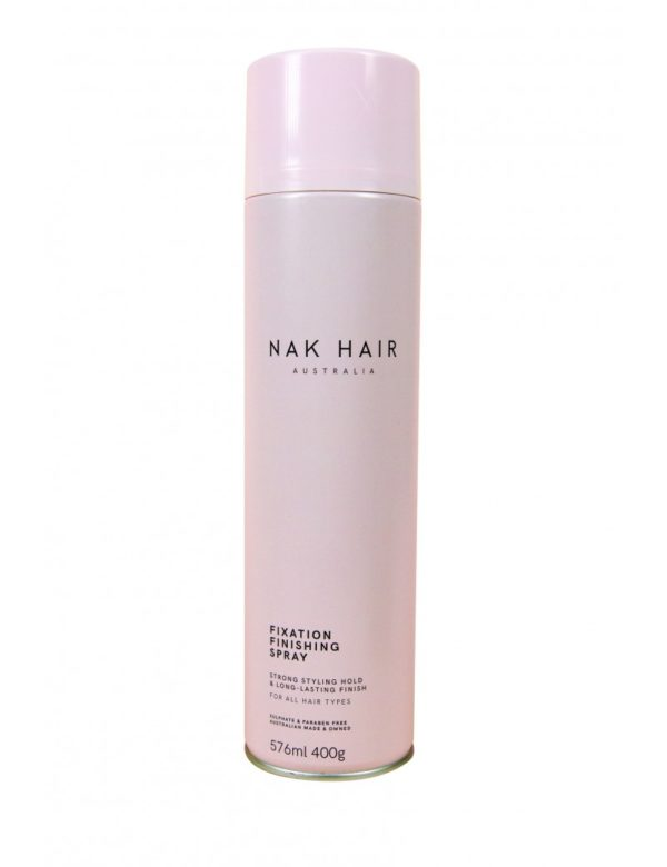 laca pelo spray nakhair fixation peinado